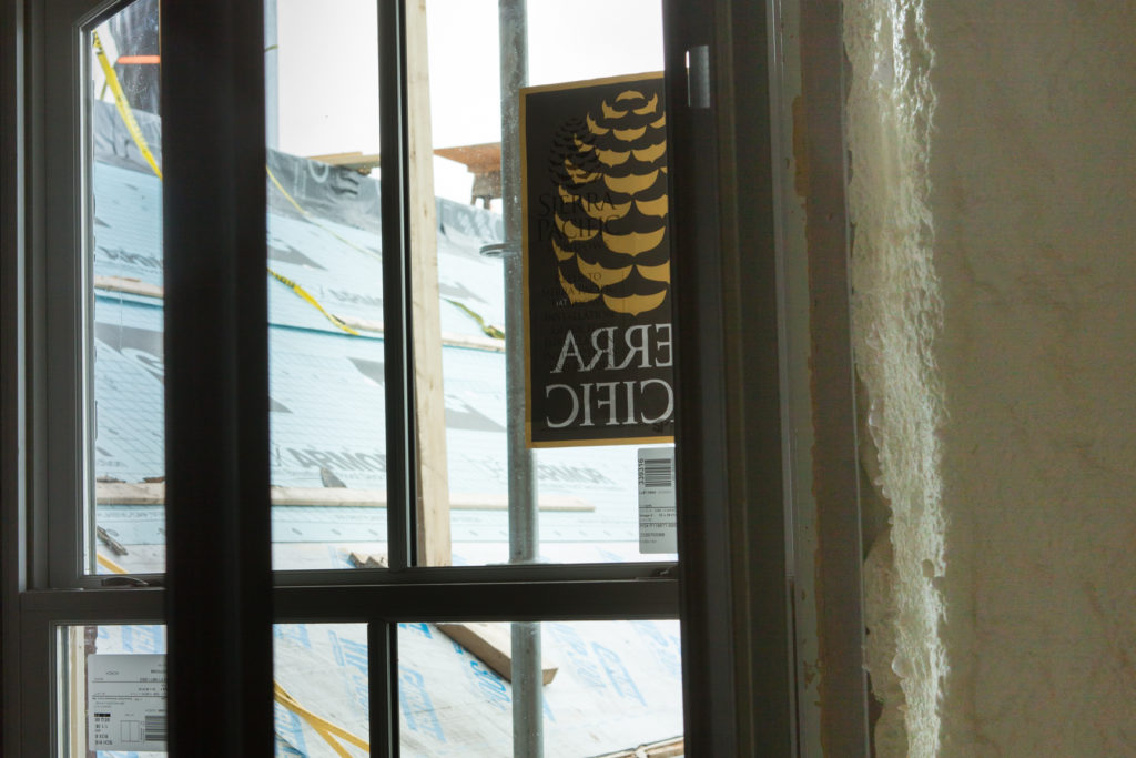 Our Work - Detail of Sierra Pacific Windows in Liberty House