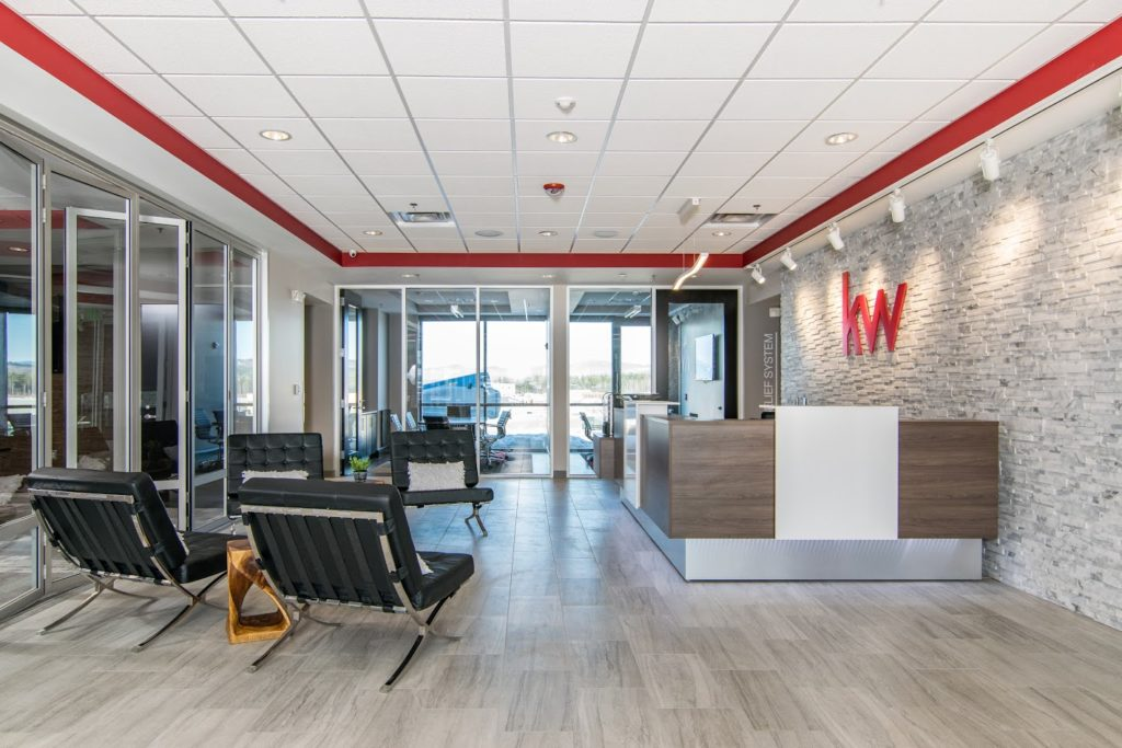 Our Work - Keller Williams Office Fit Up