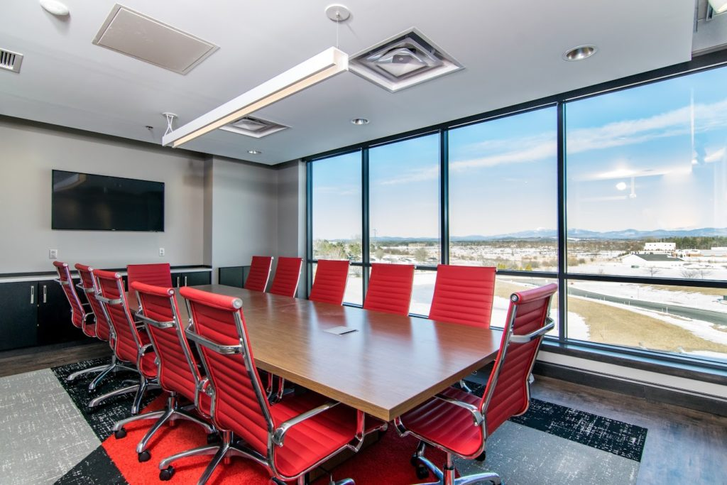 Our Work - an example of large windows in a modern work space