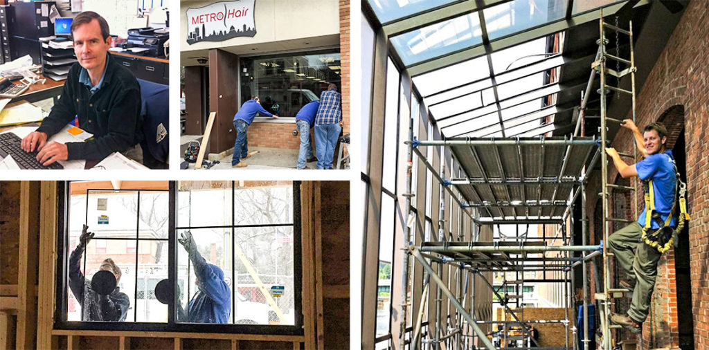 Commercial window services support local Vermont businesses