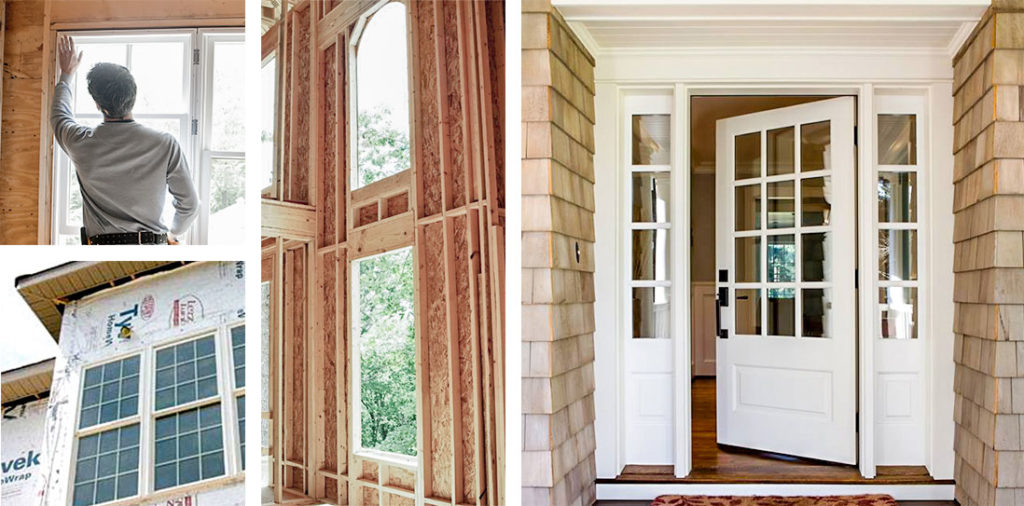 Residential construction supply services for windows and doors