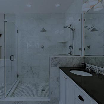 Outfit your bathroom with a custom glass shower enclosure