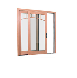 Example of sliding patio doors
